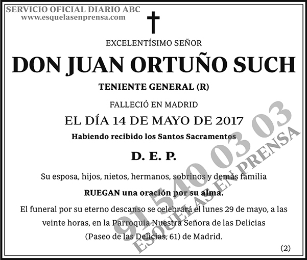 Juan Ortuño Such